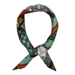 Tribe Printing Square Silk Scarves