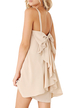 Cami Mini Dress With Bow At Back