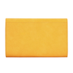 Yellow Leather-look Metal Ring Accent Clutch Bag with Shoulder Strap