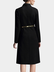 A-line Shirt Dress with Belt