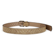 Perforated Artificial Leather Belt