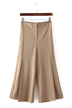 Loose Wide Leg Trousers in Khaki