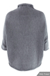 Grey Ladies Style Knit Cardigan