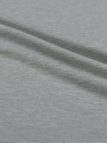 Grey Simple Long Sleeves Loose T-shirt