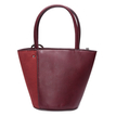 Burgundy Bucket Shoulder Bag