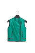 Green High Quality PU Biker Vest