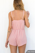 V-neck Sexy Solid Color Non-Patterned Playsuit