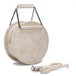 Artificial Leather-look Handbag in Apricot