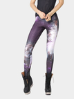 Galaxy Print High Waist Leggings