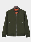 Green Jacket With Embroidery Pattern