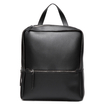 Black Casual Front Pocket Backpack