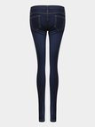 Blue Rips Details Skinny Jeans