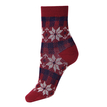 Retro Floral Printed Ankle Socks