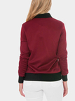 Red Fashion Long Sleeved Jacket