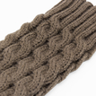Khaki Cable Knit Handwarmer