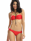 Red Halter Bikini Set