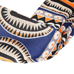 Exotic Abstract Print Headband in Orange