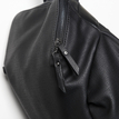 Black Fashion Front Pocket Backpack