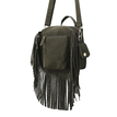 Green Tassel Fringed Mini Bag
