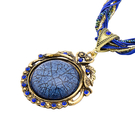 Large Jewel Stone Pendant Necklace