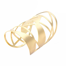Irregular Shape Adjustable Cuff Bangle