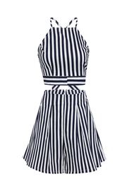 Set Nautical Stripe Shorts Co-ord