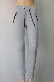Casual Pants With Zipper Pockets