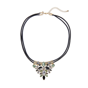 Bead Drop Choker Necklace