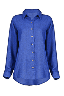 Long Sleeve Shirt in Blue