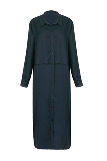 Shirt Dress with Flap Detail