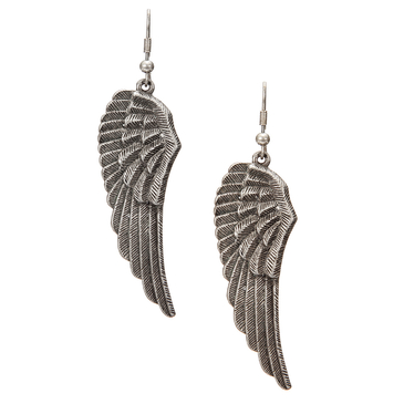 Wing Through Earrings