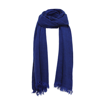 Wrap Schal in blau