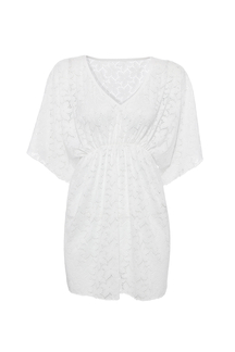 V-neck Lace Cover-up