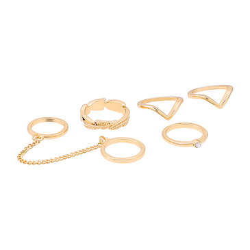 Simple And Delicate style Ring Set
