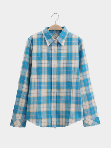 Blue Check Shirt