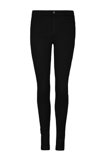 Black High Waist Skinny Jeans