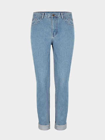 Skinny Jeans in Birch Mid Wash