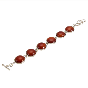 Red Crystal Insert Bracelet