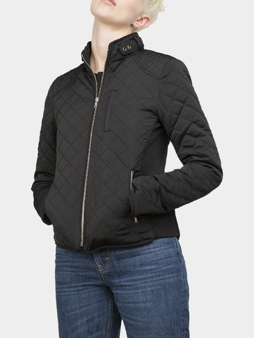 Black Resistance Quilted Jacket