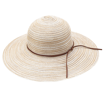 Women Vintage Round Wide Brim Summer Beach Floppy Hat