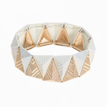 Triangle Retro Stretch Bracelet