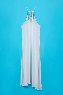 Hollow Out Side Split Sheer Beach Cover-up