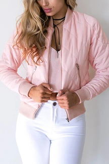 Bomber Diamond Quilted Jacket
