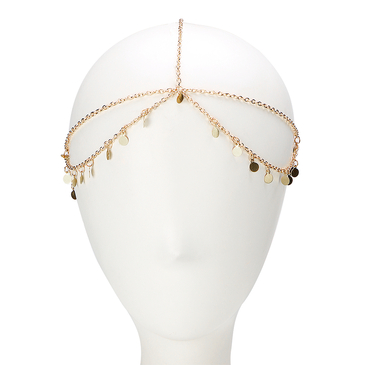 Layer Gold Plated Women Hair Accessories