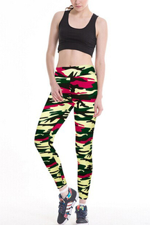 Sports Camo Print Leggings