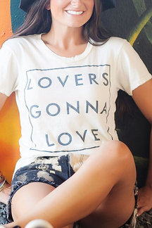 Casual White Letter Pattern T-shirt With Short Sleeves