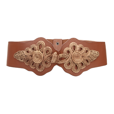 Woven Elasticated Waist Belt