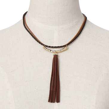 Tassel Pendant Choker Necklace