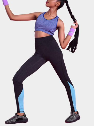 Sport Medium Waist Fashion Leggings