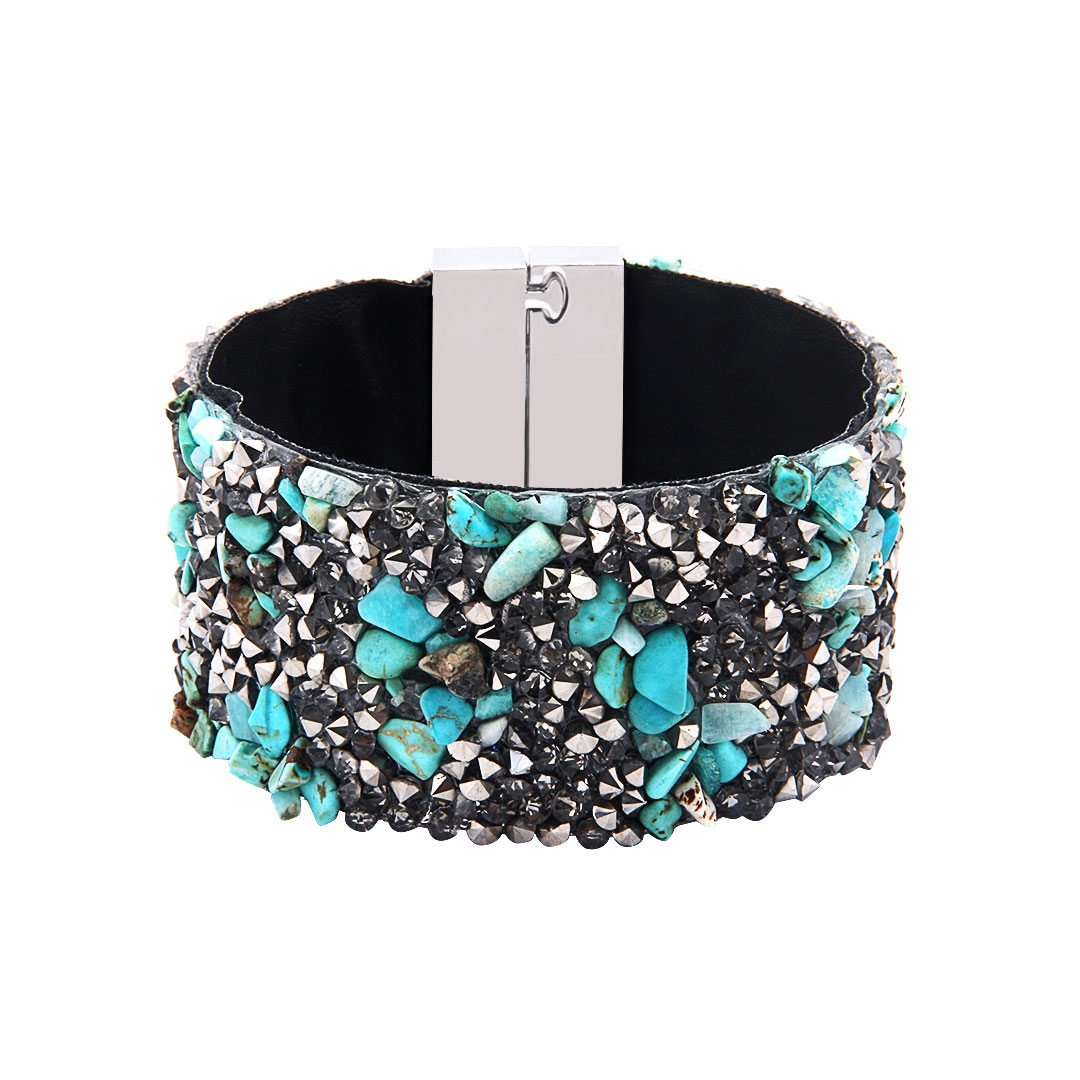 Folk magnetic bracelet us yoins for How does magnetic jewelry work